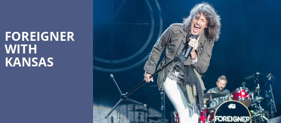Foreigner with Kansas, KeyBank Pavilion, Burgettstown